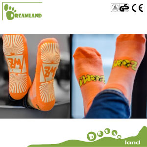 Funny Wholesale Indoor Trampoline Socks for Kids, Crazy Socks pictures & photos