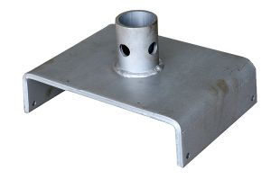 U-Head Scaffolding Galvanized Steel Base Plate pictures & photos