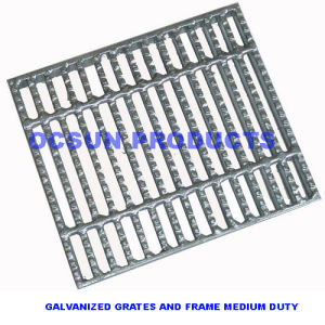 Galvanzied Grates and Frames Medium Duty pictures & photos