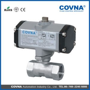 Air Control Pneumatic Ball Valve for Steam, Water pictures & photos