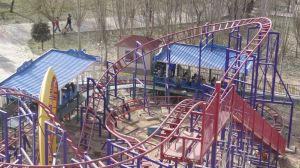 Kiddie Rides Outdoor Playground Overlapping Roller Coaster pictures & photos