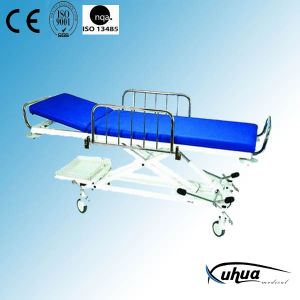 Hospital Stretcher Trolley (F-2) pictures & photos