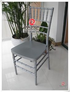 Knock Dowm Silver Chiavari Chair for Wedding Party pictures & photos