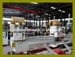 Double Head Mitre Cutting Saw for PVC and Aluminum Profile / Window Door Cutting Saw (LJZ2-450X3700) pictures & photos