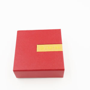 Well-Received Logo Printing Cardboard Packaging Jewelry Box (J32-C1) pictures & photos
