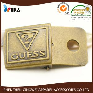 Small Metal Buckle for Cap Strap Convex Brass Fastener Cap Buckle pictures & photos