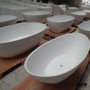 Factory Supplier Sanitaryware Cheap Price Freestanding Stone Bathtub 0710 pictures & photos