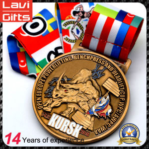 Top Sell Custom 3D Sport Metal Medal No Minimum Order pictures & photos