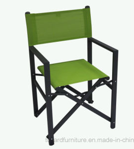 Modern Patio Garden Leisure Furniture Outdoor Lounge Chair with Textilene Back White Finish pictures & photos