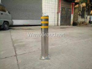 High Quality Stainless Steel Pipe Reflective Safety Street Bollards, Traffice Bollards pictures & photos
