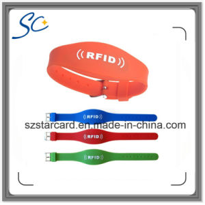 Optional Colorful RFID Wristband Free Sample pictures & photos