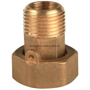 Brass Water Meter Coupling pictures & photos