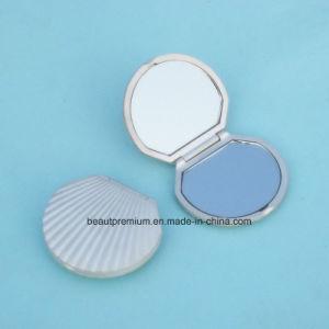Creative Shell Shape Double Side Pocket Metal Makeup Mirror BPS0212