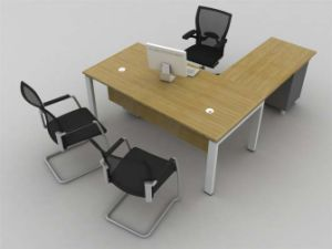 Practical White Wooden CEO Executive Office Table /Desk (NS-D021) pictures & photos