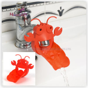 Lobster-Shaped Baby Water Chute Faucet Extender 11*6*9cm pictures & photos