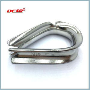 DIN 6899A Galvanised Thimble for Wire Rope pictures & photos