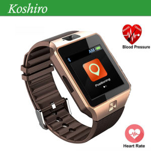 GPS Watch Mobile Phone with Blood Pressure Heart Rate Monitor pictures & photos