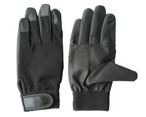 PU Palm Spandex Back Mechanic Work Glove-7401 pictures & photos