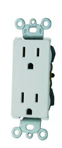 Decora Duplex Receptacle, Straight Blade, Self-Grounding, UL Listed pictures & photos