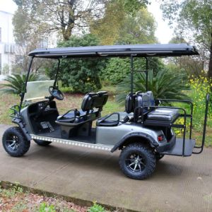 New Model 6 Passenger Electric Hunting Golf Cart (Folding windshield) pictures & photos