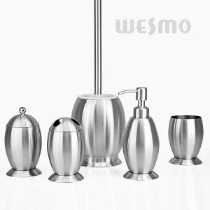 Olive Shaped Stainless Steel Bath Accessory (WBS0820A) pictures & photos