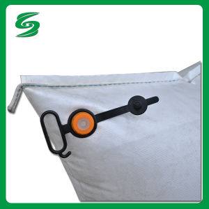 White Waterproof Ppwoven Dunnage Bags Prevent Cargos From Damage pictures & photos
