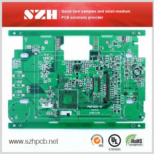 4layer HASL Lead Free 1.6mm 0.2mm Printed Circuit PCB Board pictures & photos