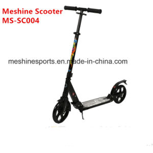Good Quality Aluminium Folding Foot Scooter with Big PU Wheels pictures & photos
