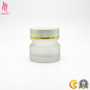 Round Shaped Empty Cosmetic Jar with Colored Lid pictures & photos