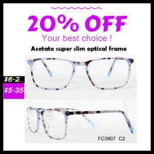 Colorful Super Slim Acetate Optical Frame pictures & photos