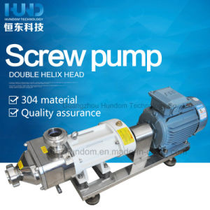 Sanitary Stainless Steel Viscosity Fluid Twin Screw Pump for Jam pictures & photos