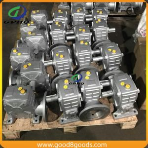Wpwo Worm Speed Transmission Gearbox pictures & photos