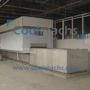 Shell Food Quick Blast Freezing Type IQF Tunnel Freezer/Blast Freezer pictures & photos