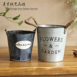 Galvanized Iron Ice Buckets Metal Ice Bucket Beer Ice Bucket pictures & photos