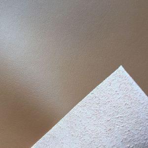 Plain Grain Microfiber Leather for Car Seats Hx-C1704 pictures & photos