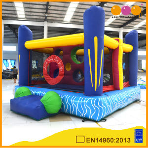Inflatable Hole Wall Boucner Moonwalk (AQ03128) pictures & photos