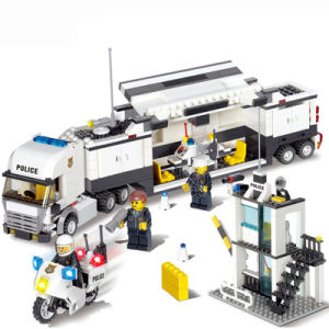 1486727-Police Station Building Blocks Bricks Educational Toys Compatible with All Brand City Birthday Gift Toy Brinquedos pictures & photos