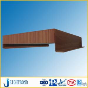 Wood Grain and PVDF Coated Honeycomb Panel for Ceiling Decoration pictures & photos