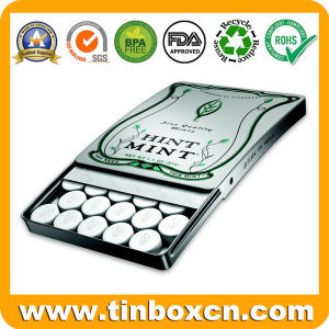 Factory Sliding Mint Tins for Slide Metal Can Gum Box pictures & photos