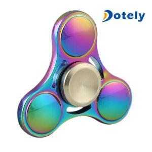 Fidget Spinner Rainbow Metal Finger Gyro pictures & photos