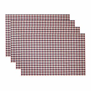 Classical Jacquard Weave Insulation Anti-Skid PVC Woven Placemat pictures & photos