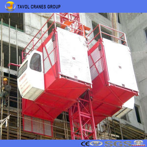 Sc200/200 2ton Construction Building Hoist pictures & photos