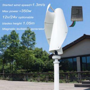 300W-600W Wind Turbine Generator Vertical Maglev Wind Generator 12V 24V 48V pictures & photos