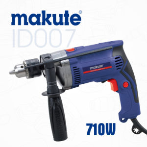 Professional Tool 13mm 710W Electric Impact Hammer Drill (ID007) pictures & photos