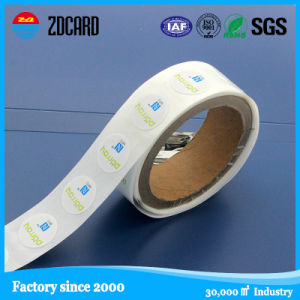 Paper Roll Blank 13.56MHz Adhesive RFID Tag pictures & photos