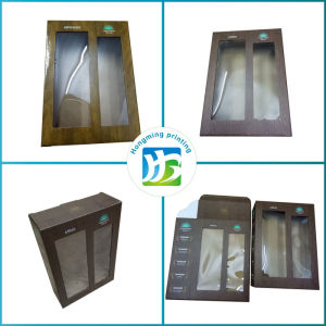 Custom Design Paper Cardboard Wine Glass Packing Box pictures & photos