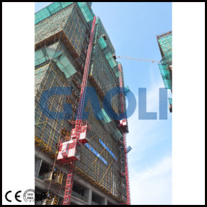 Good Performance Sc100/100 Construction Building Hoist / Elevator pictures & photos