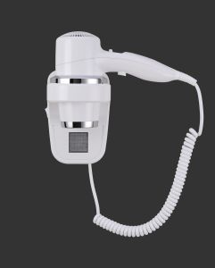 Wall Mounted Electrical Hotel Hair Dryer with Colorful Lamp pictures & photos