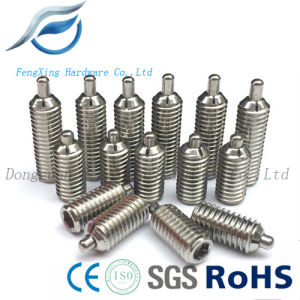 Stainless Steel Hex Slot Pin Plunger, Misumi Standard Ball Plunger pictures & photos