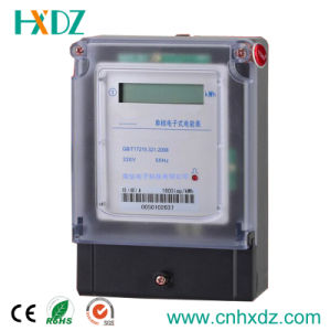 Single Phase Digital Electric Meter pictures & photos